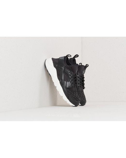 Nike Air Huarache Run Ultra SE Black/ Dark Grey/ Sail-Black El Envío Del Descenso 1x04P3a
