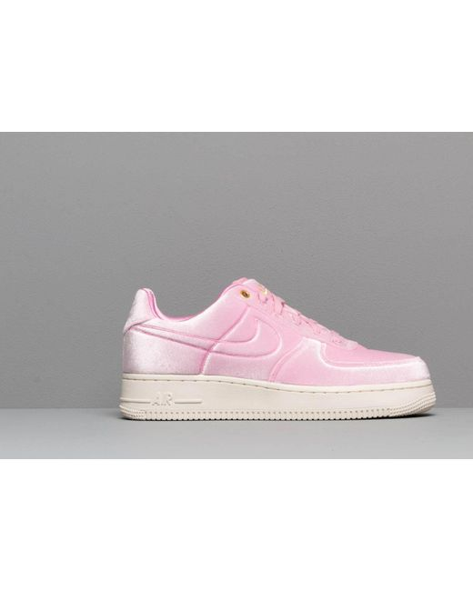 Women's Air Force 1 '07 Premium 3 Pink Rise Pink Rise sail metallic Gold