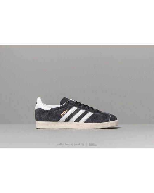 detailed pictures 48fbd 8fcfd ... Adidas Originals - Adidas Gazelle Core Black  Ftw White  Off White for  Men ...