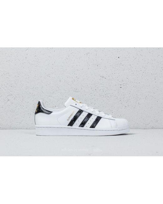 Lyst adidas Originals negro Adidas Superstar FTW blanco / CORE negro Originals / oro 7640cd
