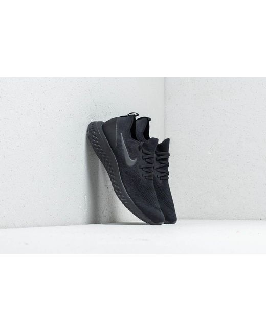 undefeated x superior quality first rate Women's Wmns Epic React Flyknit Black/ Black-black