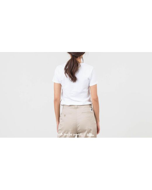 afd46f36037 Lyst - Levi's X Peanuts Perfect Graphic Tee White in White