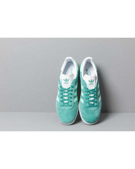 reputable site 8216c ab1a9 ... Adidas - Green Gazelle Shoes for Men - Lyst ...