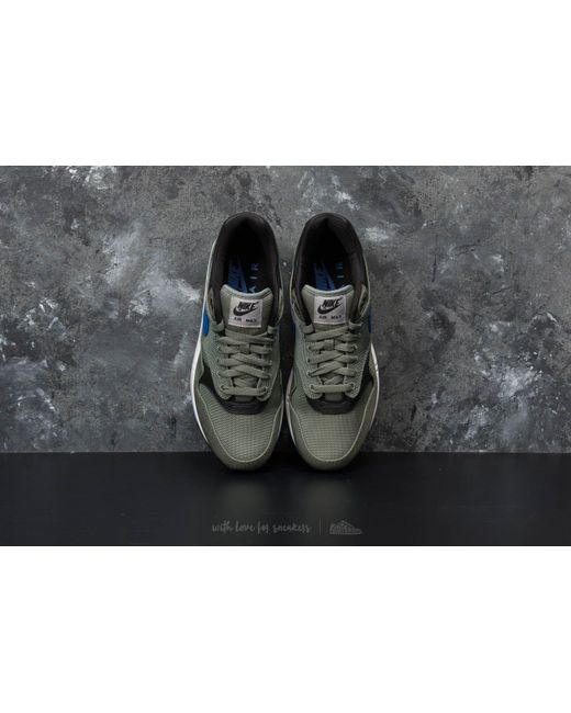 ... Nike - Multicolor Air Max 1 Premium Clay Green/ Hyper Royal-white for  Men ...