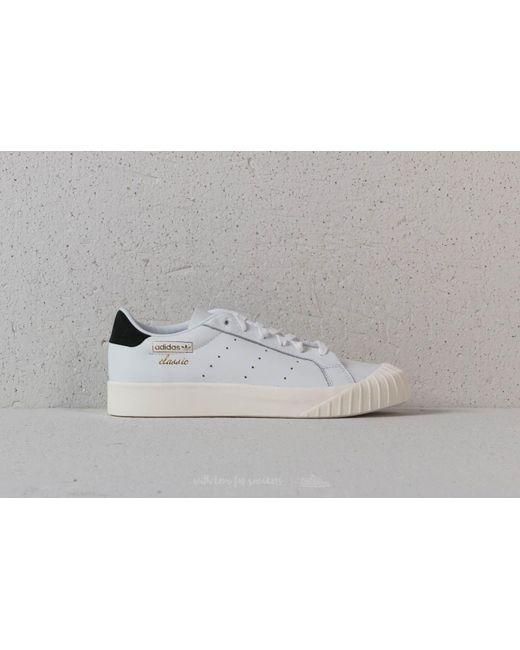 lyst adidas originali adidas everyn w ftw bianco / ftw bianco / core