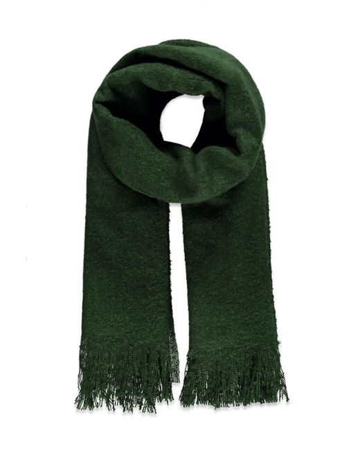 Forever 21 | Green Fuzzy Oblong Scarf | Lyst