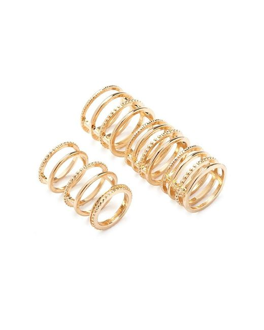 Forever 21 | Metallic Caged Midi Ring Set | Lyst