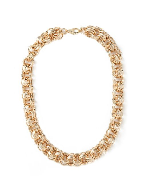 Forever 21 | Metallic Etched Chain Necklace | Lyst