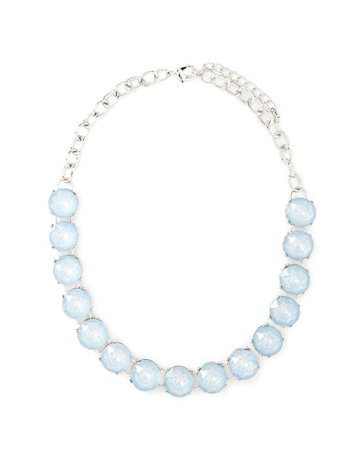 Forever 21 | Blue Faux Gem Collar Necklace | Lyst