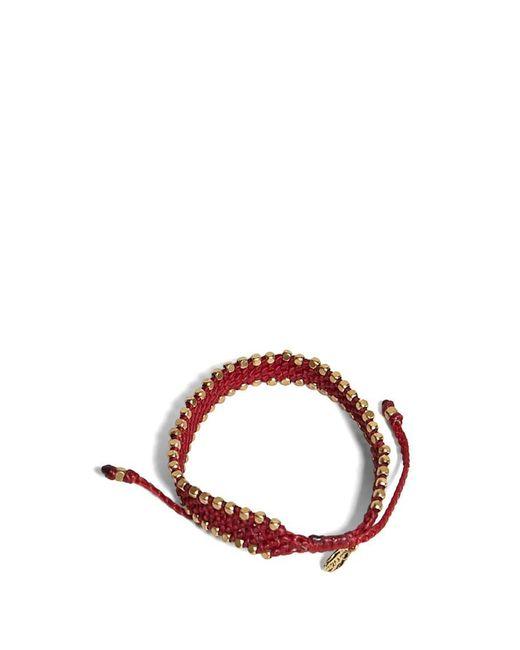 Forever 21 | Red Ebb And Flow Beaded Bracelet | Lyst