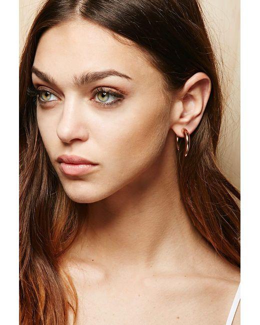 Forever 21 | Metallic Amber Sceats Hook Ear Jackets | Lyst