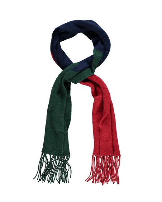 Forever 21 - Green Colorblock Oblong Scarf - Lyst
