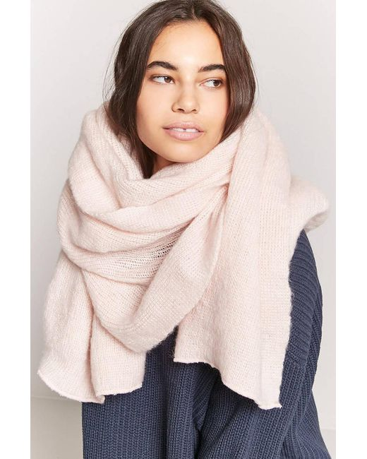 Forever 21 | Multicolor Oversized Knit Scarf | Lyst