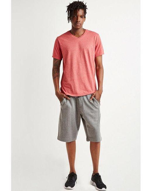 Forever 21 - Gray Zip-pocket Sweatshorts for Men - Lyst