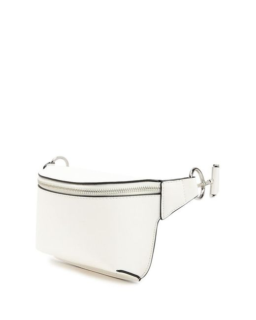 Forever 21 - White Faux Leather Belt Bag - Lyst