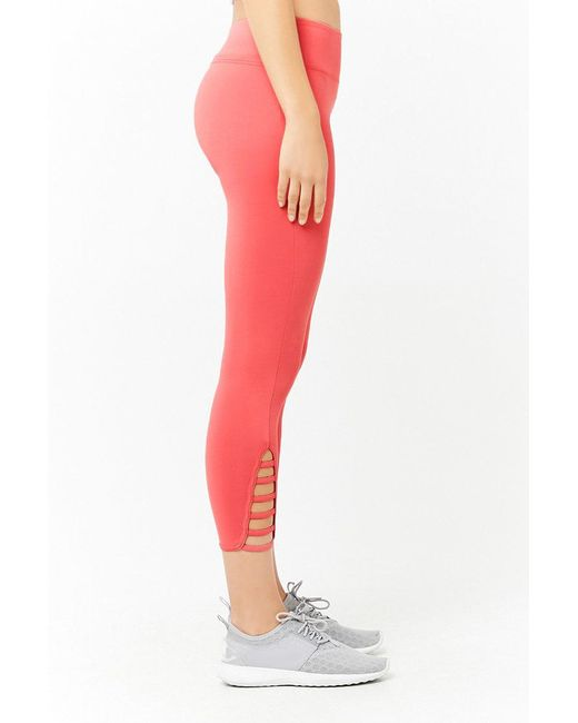 303dfe808c ... Lyst Forever 21 - Multicolor Women's Active Capri Leggings ...