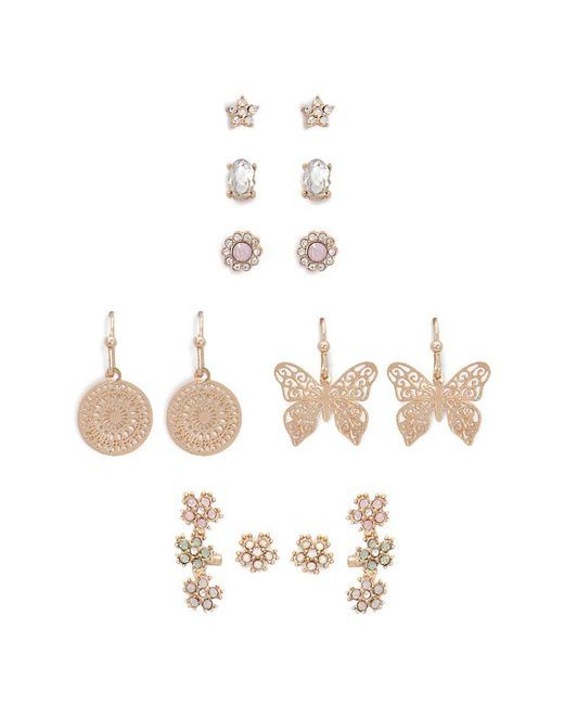 Forever 21 - Metallic Assorted Earring Set - Lyst