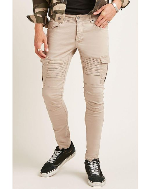 Forever 21 | Natural Project X Paris Slim-fit Jeans for Men | Lyst