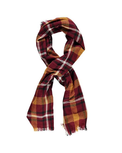 Forever 21 - Red Check Oblong Scarf - Lyst