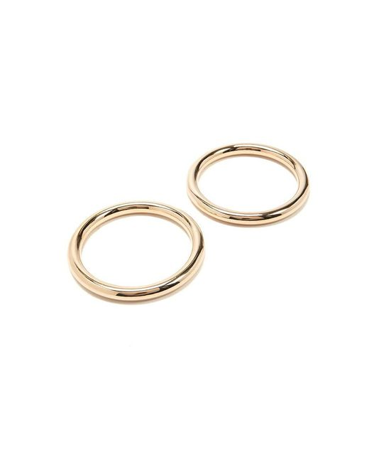 Forever 21 - Metallic Round Bangle Bracelet Set - Lyst