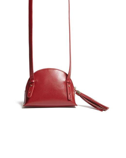 Forever 21 - Red Half Moon Crossbody Bag - Lyst