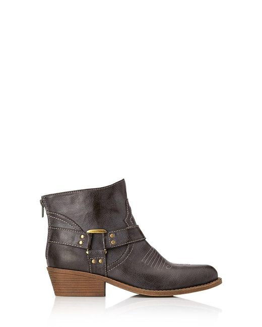 Forever 21   Gray Western Warrior Booties   Lyst