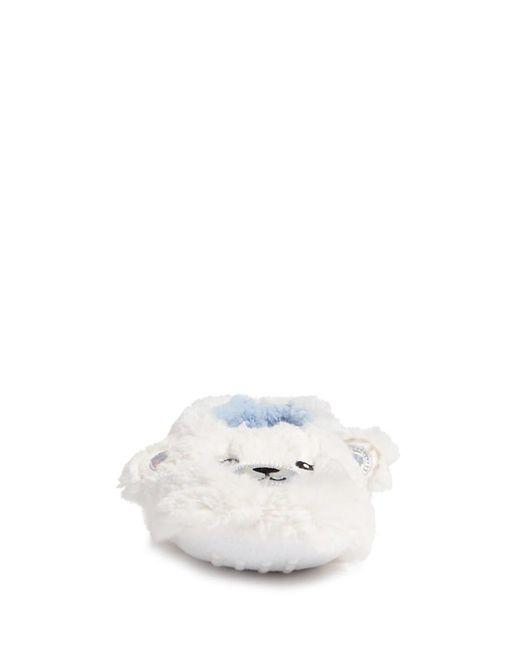 FOREVER21 - White Plush Polar Bear Slipper Socks - Lyst