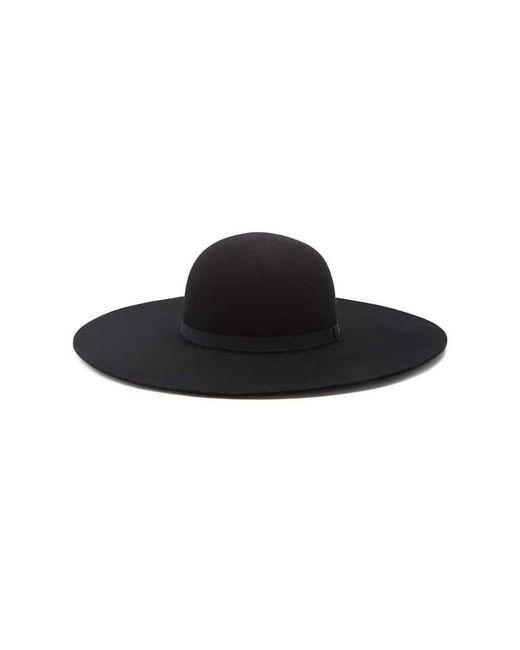 Forever 21 - Black Floppy Wool Hat - Lyst