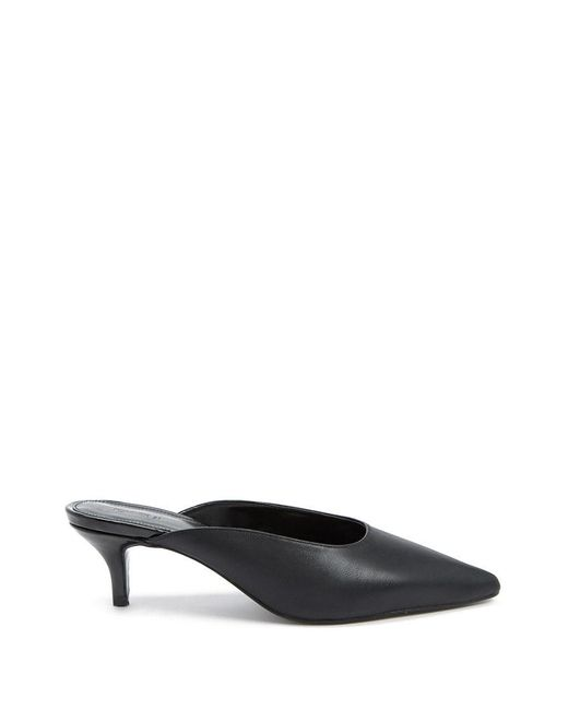 Forever 21 - Black Pointed Toe Heels - Lyst