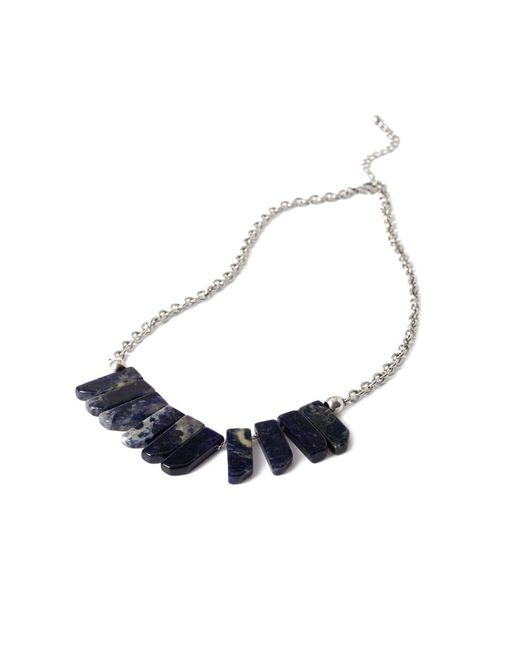 Forever 21 - Metallic Faux Stone Statement Necklace - Lyst