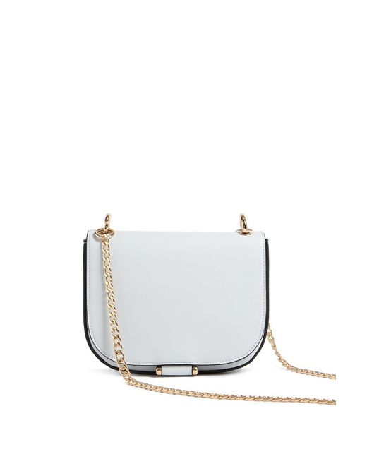 Forever 21 - Blue Faux Leather Crossbody Bag - Lyst