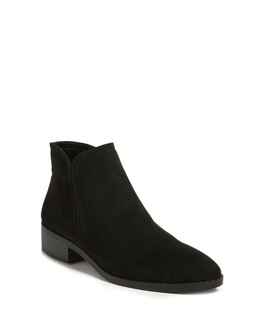 Forever 21 | Black Faux Suede Ankle Boots | Lyst