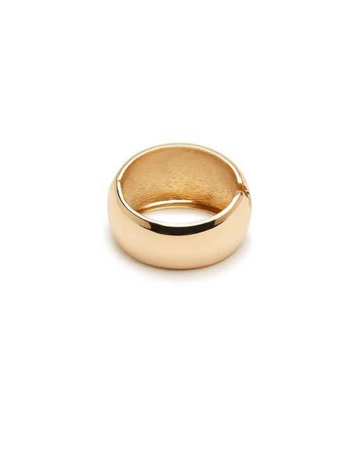 Forever 21 - Metallic Goldtone Hinge Bracelet - Lyst