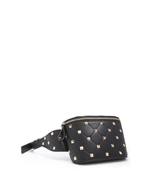 Forever 21 - Black Studded Belt Bag - Lyst