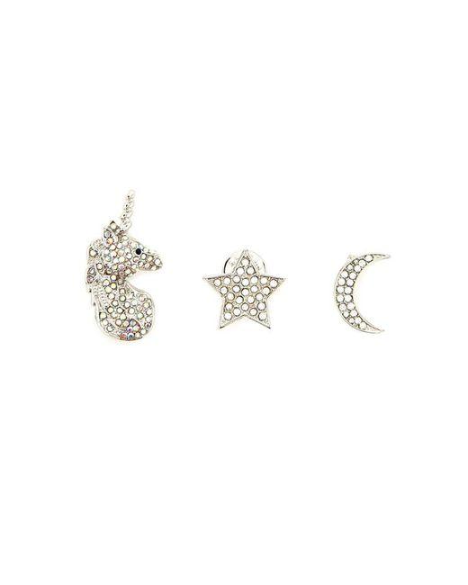 Forever 21 | Metallic Unicorn Pin Set | Lyst