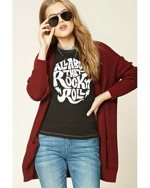 Forever 21 | Multicolor Rock N Roll Graphic Tee | Lyst