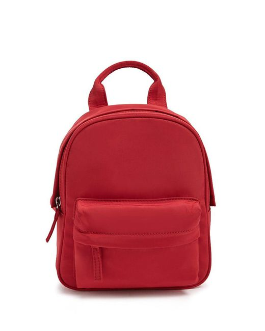 Forever 21 - Red Mini Woven Backpack - Lyst
