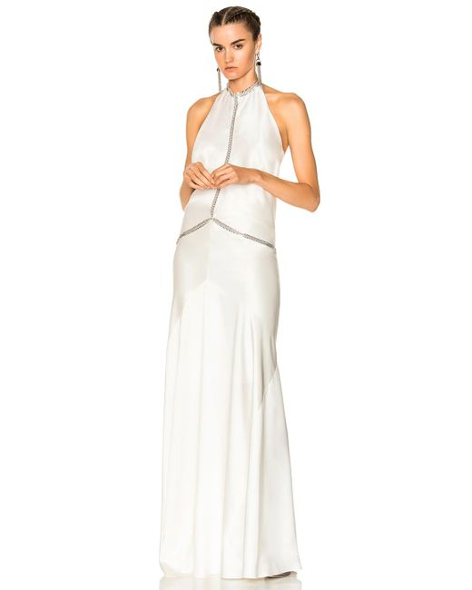 Alexander Wang | Multicolor Backless Gown | Lyst