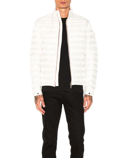 Moncler | White Daniel Jacket for Men | Lyst