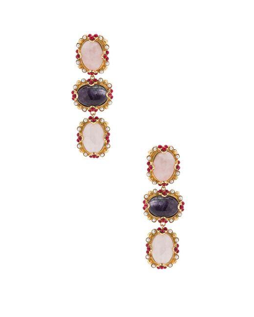 Christie Nicolaides - Metallic Allegra Earrings - Lyst