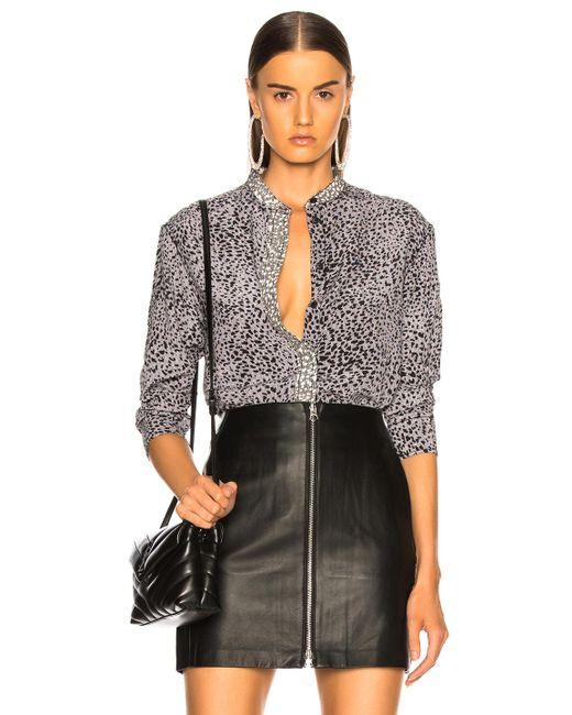 Rag & Bone - Black Christie Shirt - Lyst
