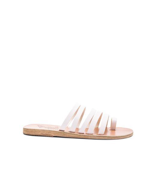 Ancient Greek Sandals - White Niki Sandals - Lyst