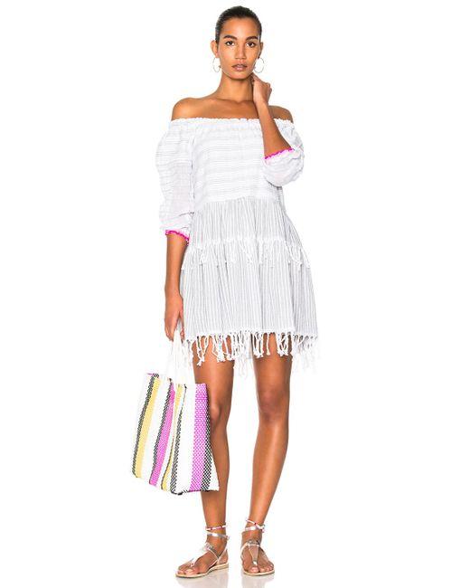 Lemlem | White Anan Mini Dress | Lyst
