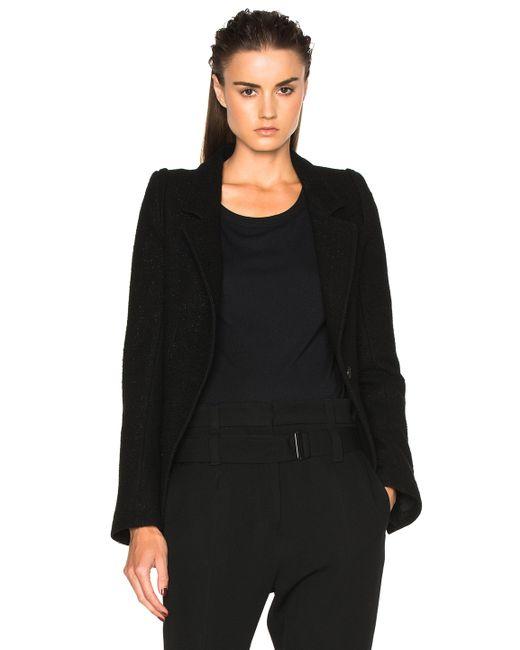 Ann Demeulemeester | Black Blazer | Lyst