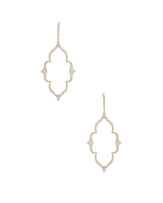 Stone Paris - Metallic Moon River Earrings - Lyst