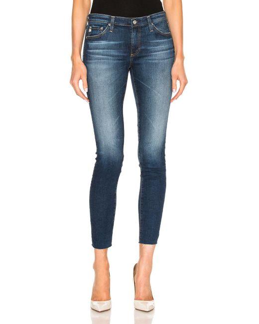 AG Jeans | Blue Legging Ankle | Lyst