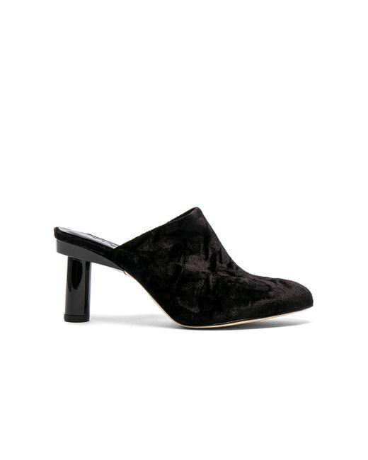Tibi | Black Zoe Velvet Heels | Lyst