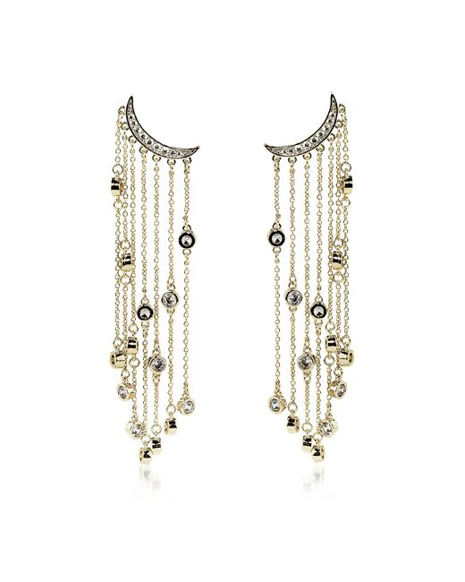 FEDERICA TOSI - Metallic Big Rain Earrings - Lyst