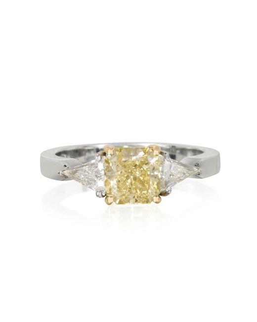 Forzieri - Metallic Diamond Gold Ring - Lyst