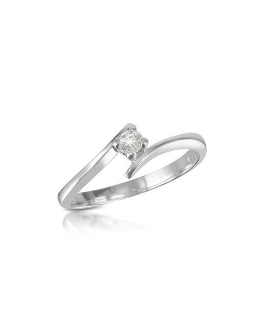 Forzieri - Multicolor 0.10 Ct Diamond Solitaire Ring - Lyst